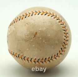 1920's Walter Johnson Single Signed Autographed Baseball With PSA DNA COA