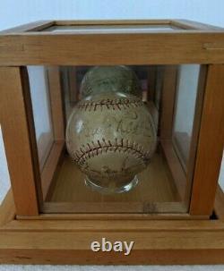 1933 NY Yankees Signed Ball Ruth & Gehrig PSA/DNA COA AUTHENTIC #AJ07051
