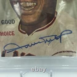 1950's Willie Mays Signed Autographed Magazine Photo PSA DNA COA
