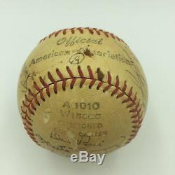 1952 St. Louis Cardinals Team Signed Baseball With Stan Musial PSA DNA COA