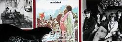 1969 Woodstock Legends 5x Autographed Guitar Psa Dna Coa Custom Framed Shadowbox