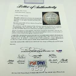 1974 Kansas City Royals George Brett Rookie Team Signed AL Baseball PSA DNA COA