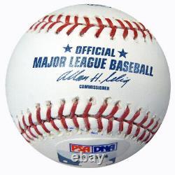 1976 Reds Autographed MLB Baseball 17 Sigs Johnny Bench PSA/DNA COA 120037