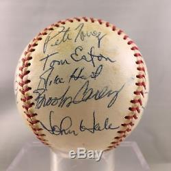 1981 Rochester Red Wings Team Signed Baseball Cal Ripken Jr. PSA DNA COA
