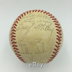 1985 Kansas City Royals World Series Champs Team Signed Baseball PSA DNA COA