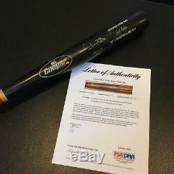1991 Cecil Fielder 51 Home Runs 1990 Signed Game Used Bat PSA DNA & JSA COA