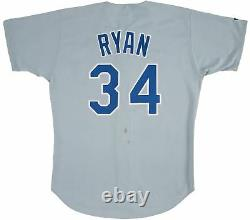 1992 Nolan Ryan Signed Game Issued Texas Rangers Jersey With PSA DNA COA