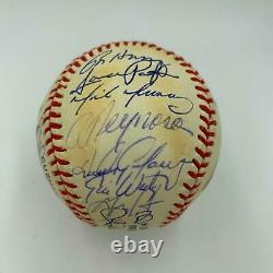 1993 Colorado Rockies Inaugural Season Team Signed Baseball With PSA DNA COA