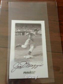 1993 Score Pinnacle #3 Joe Dimaggio Autographed Signed Full PSA/DNA COA