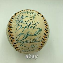 1994 All Star Game National League Team Signed Baseball Barry Bonds PSA DNA COA