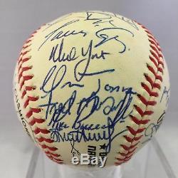 1996 Atlanta Braves Nl Champions Team Signed Baseball 31 Signatures Psa Dna Coa