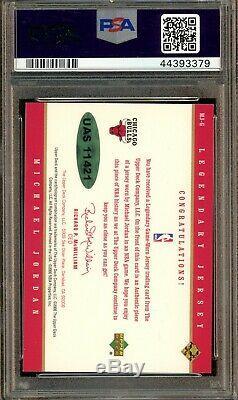 2000 U. D. Legends GOLD Michael Jordan Jersey /25 PSA PSA/DNA 10 AUTO UDA COA