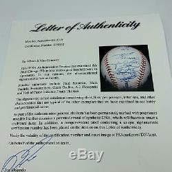 2005 Chicago White Sox World Series Champs Team Signed Baseball (26) PSA DNA COA