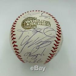 2005 Chicago White Sox World Series Champs Team Signed W. S. Baseball PSA DNA COA