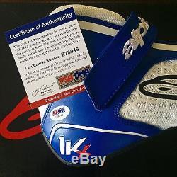 2015 Dale Earnhardt Jr. Signed Alpinestars Tech 1-KX Racing Shoes PSA/DNA COA