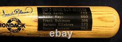500 Home Run Club Signed 7 Auto Baseball Bat Psa/dna Bonds Aaron Mays Hr Hof Coa