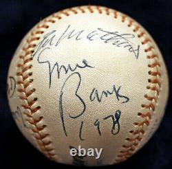 500 Home Run Club Signed Baseball 11 Auto Mantle Williams Aaron Hr Psa/dna Coa