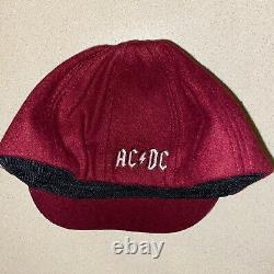 ANGUS YOUNG signed autographed SCHOOL BOY CAP AC/DC BACK IN BLACK PSA/DNA COA