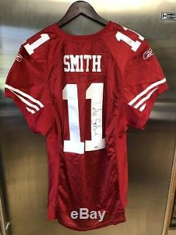 Alex Smith GAME ISSUED SIGNED JERSEY! SAN FRANCISCO 49ERS GAME SPARE COA PSA/DNA