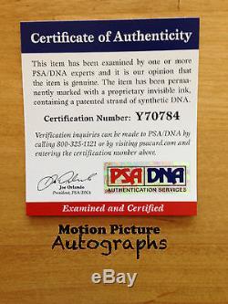 Alexandra Daddario Signed 11x14 Photo Psa Dna Coa Autograph