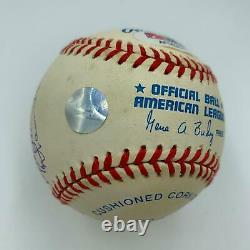 All Century Team Signed Baseball Hank Aaron Willie Mays Ernie Banks PSA DNA COA