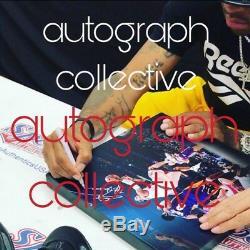 Allen Iverson Signed 14x14 Autograph Canvas The Answer PSA/DNA COA Proof AUTO