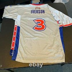 Allen Iverson Signed Authentic 2005 All Star Game Basketball Jersey PSA DNA COA