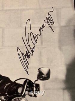 Arnold Schwarzenegger Signed Terminator 16x20 Photo PSA DNA COA Autograph