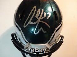 Autographed Alshon Jeffery Philadelphia Eagles Speed Mini Helmet PSA DNA COA