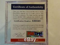 Autographed CARL YASTRZEMSKI Signed Rawlings Baseball RED SOX PSA DNA COA & Case