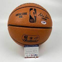 Autographed/Signed ZION WILLIAMSON Full Size FS Spalding Basketball PSA/DNA COA
