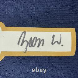 Autographed/Signed ZION WILLIAMSON New Orleans Blue Jersey PSA/DNA COA Auto