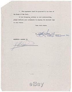 Badfinger Beatles Autographs Signed DCS Contracts PSA/DNA Full COA