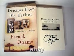 Barack Obama President Signed Autograph Dreams From My Father Book PSA/DNA COA