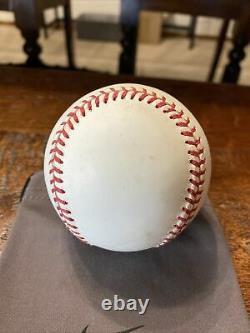 Barry Bonds Signed National League Baseball Psa Dna Coa Giants Autographed