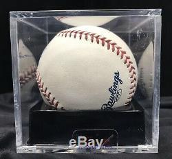 Barry Bonds Signed OMLB Baseball PSA DNA COA Graded MINT + 9.5 / 10 Auto
