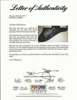 Bb King Signed Gibson Sheraton Guitar Proof Psa/dna! A Beauty! Coa Rare