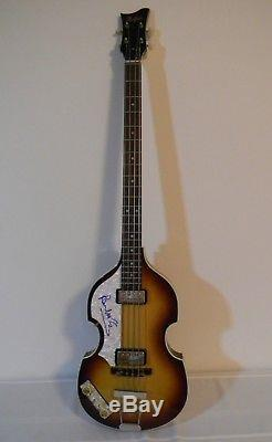 Beatles Paul McCartney Autographed Hofner! Epperson/PSA/DNA COA