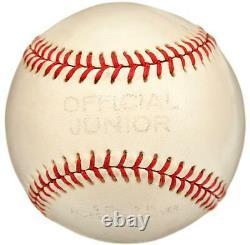 Beautiful 1955 Roy Campanella Pre Accident Single Signed Baseball PSA DNA COA