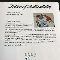 Beautiful Albert Pujols Signed Original Hand Painted Home Plate Art PSA DNA COA
