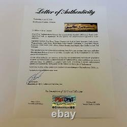 Beautiful All Century Team Signed Bat 16 Sigs With Ted Williams PSA DNA COA