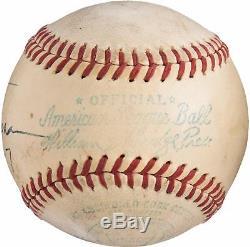 Beautiful President Harry S. Truman Single Signed Baseball PSA DNA & JSA COA