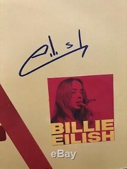 Billie Eilish Signed Dont Smile At Me Vinyl Album PSA/DNA COA Bad Guy RARE