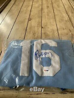 Bo Jackson Autographed/Signed Jersey PSA/DNA COA Kansas City Royals Sweater Styl