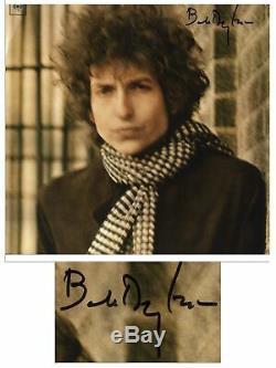 Bob Dylan Signed Blonde on Blonde PSA / DNA COA