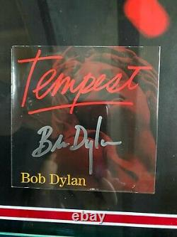 Bob Dylan Signed Tempest Cd. Psa/dna And Epperson Coas. The Best On Ebay