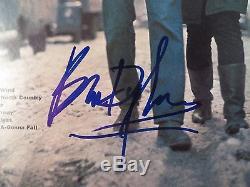 Bob Dylan The Freewheelin Signed Record Album Cover Psa Dna Coa Loa Autograph