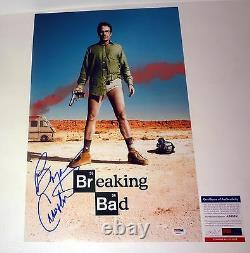 Bryan Cranston Signed Autograph Breaking Bad Movie Poster PSA/DNA COA