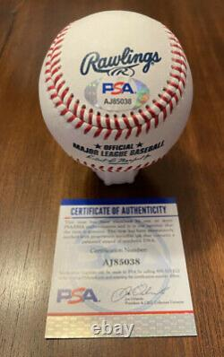 Bryce Harper Autographed Baseball W PSA/DNA COA