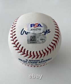 Bryce Harper Signed Baseball PSA/DNA Autographed Ball auto MLB COA
